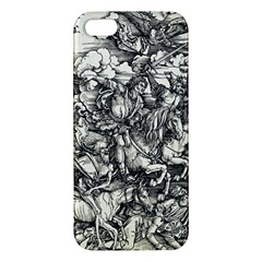 Four Horsemen Of The Apocalypse   Albrecht D¨1rer Iphone 5s/ Se Premium Hardshell Case