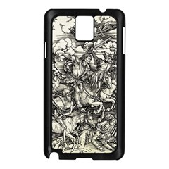 Four Horsemen Of The Apocalypse   Albrecht D¨1rer Samsung Galaxy Note 3 N9005 Case (black)