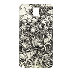 Four Horsemen Of The Apocalypse   Albrecht D¨1rer Samsung Galaxy Note 3 N9005 Hardshell Back Case
