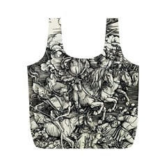 Four Horsemen Of The Apocalypse   Albrecht D¨1rer Full Print Recycle Bags (m)