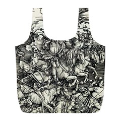 Four Horsemen Of The Apocalypse   Albrecht D¨1rer Full Print Recycle Bags (l)