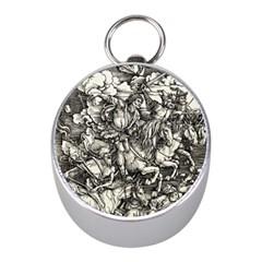 Four Horsemen Of The Apocalypse   Albrecht D¨1rer Mini Silver Compasses