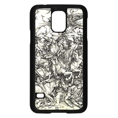 Four Horsemen Of The Apocalypse   Albrecht D¨1rer Samsung Galaxy S5 Case (black)