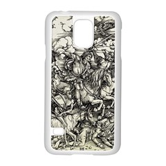 Four Horsemen Of The Apocalypse   Albrecht D¨1rer Samsung Galaxy S5 Case (white)