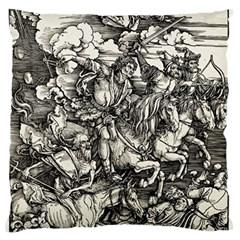 Four Horsemen Of The Apocalypse   Albrecht D¨1rer Standard Flano Cushion Case (two Sides)