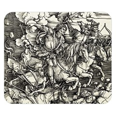 Four Horsemen Of The Apocalypse   Albrecht D¨1rer Double Sided Flano Blanket (small)