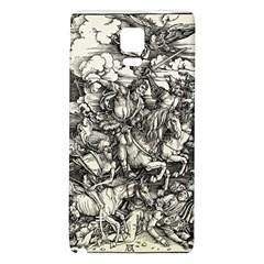 Four Horsemen Of The Apocalypse   Albrecht D¨1rer Galaxy Note 4 Back Case
