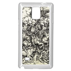 Four Horsemen Of The Apocalypse   Albrecht D¨1rer Samsung Galaxy Note 4 Case (white)