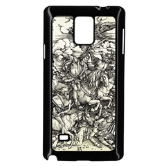 Four Horsemen Of The Apocalypse   Albrecht D¨1rer Samsung Galaxy Note 4 Case (black)