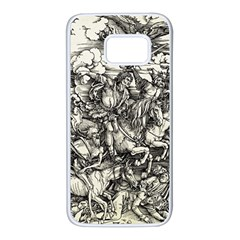 Four Horsemen Of The Apocalypse   Albrecht D¨1rer Samsung Galaxy S7 White Seamless Case
