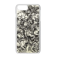 Four Horsemen Of The Apocalypse   Albrecht D¨1rer Apple Iphone 7 Plus Seamless Case (white)