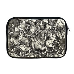 Four Horsemen Of The Apocalypse   Albrecht D¨1rer Apple Macbook Pro 17  Zipper Case