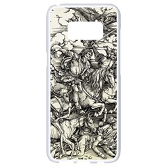 Four Horsemen Of The Apocalypse   Albrecht D¨1rer Samsung Galaxy S8 White Seamless Case