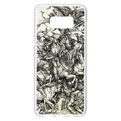 Four Horsemen Of The Apocalypse   Albrecht D¨1rer Samsung Galaxy S8 Plus White Seamless Case