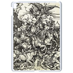 Four Horsemen Of The Apocalypse   Albrecht Dürer Apple Ipad Pro 9 7   White Seamless Case by Valentinaart