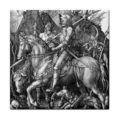 Death And The Devil   Albrecht D¨1rer Tile Coasters