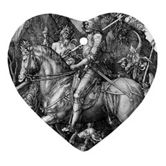 Death And The Devil   Albrecht D¨1rer Ornament (heart)