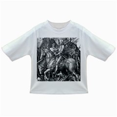 Death And The Devil   Albrecht D¨1rer Infant/toddler T Shirts