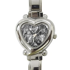 Death And The Devil   Albrecht D¨1rer Heart Italian Charm Watch