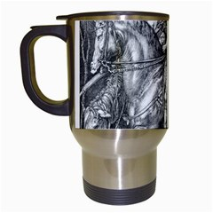 Death And The Devil   Albrecht D¨1rer Travel Mugs (white)