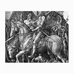 Death And The Devil   Albrecht D¨1rer Small Glasses Cloth