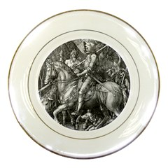 Death And The Devil   Albrecht D¨1rer Porcelain Plates