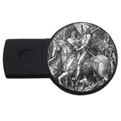 Death And The Devil   Albrecht D¨1rer Usb Flash Drive Round (4 Gb)