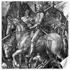Death And The Devil   Albrecht D¨1rer Canvas 16  X 16