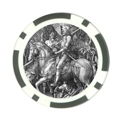 Death And The Devil   Albrecht D¨1rer Poker Chip Card Guard