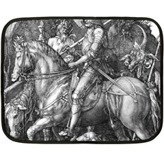 Death And The Devil   Albrecht D¨1rer Fleece Blanket (mini)
