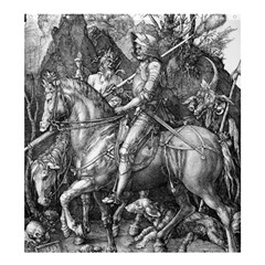 Death And The Devil   Albrecht D¨1rer Shower Curtain 66  X 72  (large)
