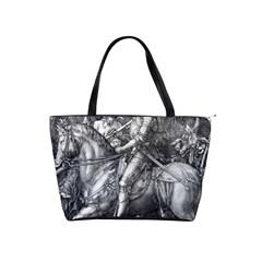 Death And The Devil   Albrecht D¨1rer Shoulder Handbags