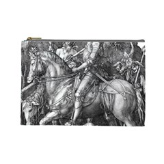 Death And The Devil   Albrecht D¨1rer Cosmetic Bag (large)
