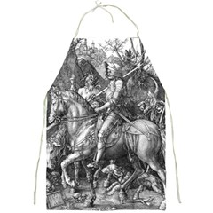 Death And The Devil   Albrecht D¨1rer Full Print Aprons