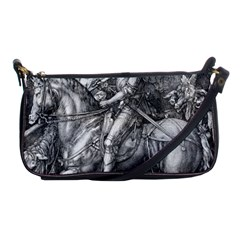 Death And The Devil   Albrecht D¨1rer Shoulder Clutch Bags
