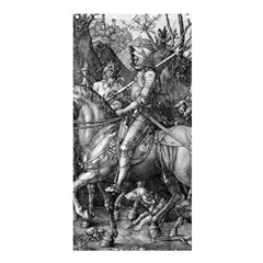 Death And The Devil   Albrecht D¨1rer Shower Curtain 36  X 72  (stall)
