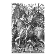 Death And The Devil   Albrecht D¨1rer Shower Curtain 48  X 72  (small)