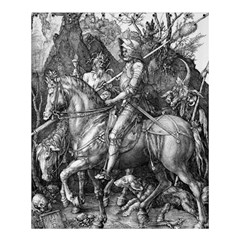 Death And The Devil   Albrecht D¨1rer Shower Curtain 60  X 72  (medium)