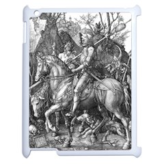 Death And The Devil   Albrecht D¨1rer Apple Ipad 2 Case (white)