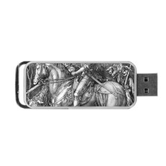 Death And The Devil   Albrecht D¨1rer Portable Usb Flash (two Sides)