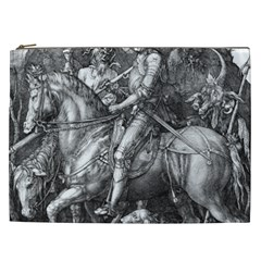 Death And The Devil   Albrecht D¨1rer Cosmetic Bag (xxl)