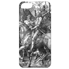 Death And The Devil   Albrecht D¨1rer Apple Iphone 5 Classic Hardshell Case