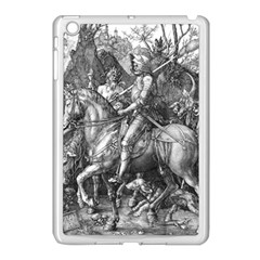 Death And The Devil   Albrecht D¨1rer Apple Ipad Mini Case (white)