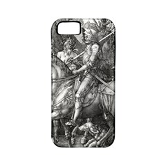 Death And The Devil   Albrecht D¨1rer Apple Iphone 5 Classic Hardshell Case (pc+silicone)