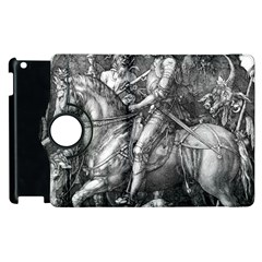 Death And The Devil   Albrecht D¨1rer Apple Ipad 3/4 Flip 360 Case