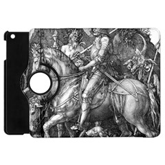 Death And The Devil   Albrecht D¨1rer Apple Ipad Mini Flip 360 Case
