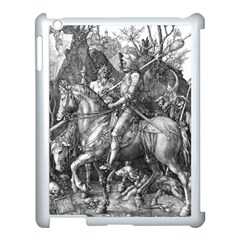 Death And The Devil   Albrecht D¨1rer Apple Ipad 3/4 Case (white)