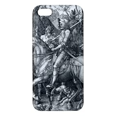Death And The Devil   Albrecht D¨1rer Apple Iphone 5 Premium Hardshell Case