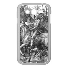 Death And The Devil   Albrecht D¨1rer Samsung Galaxy Grand Duos I9082 Case (white)