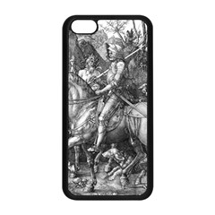 Death And The Devil   Albrecht D¨1rer Apple Iphone 5c Seamless Case (black)